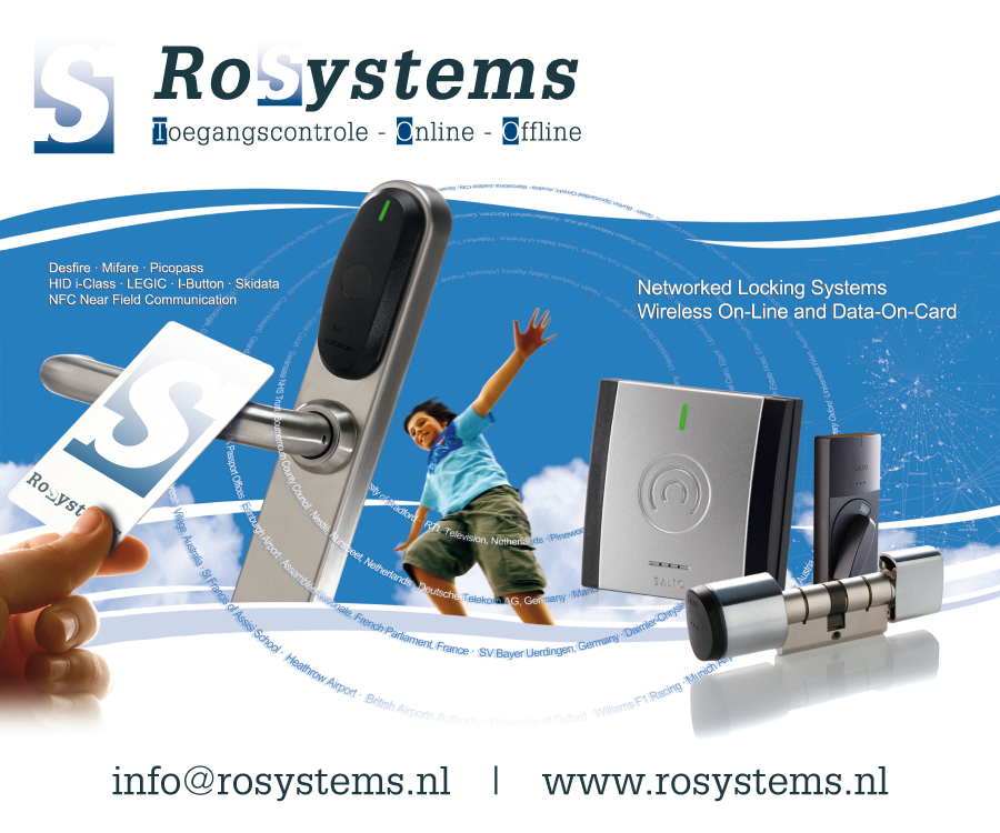 RoSystems | Toegangscontrole Online Offline